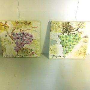 Other - Grapes wine ceramic tiles
